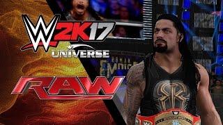 WWE 2K17 Universe Mode | Raw Episode 1