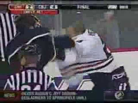 Rick Nash vs. Jim Vandermeer