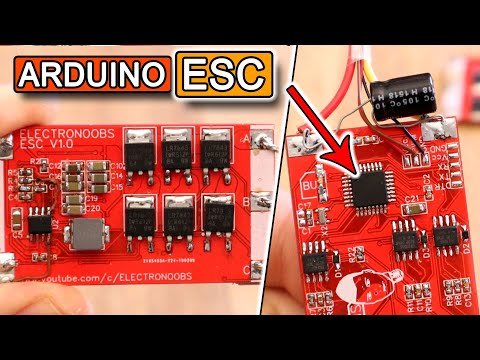 Arduino Sensorless Electronic Speed Controller | Open