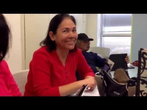 עליזה מספרת על הטאבלט שלה
