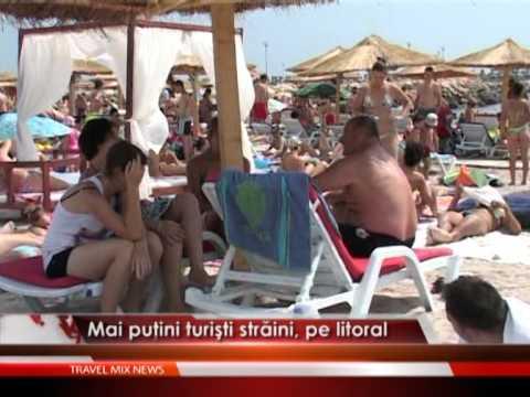Mai putini turisti straini, pe litoral
