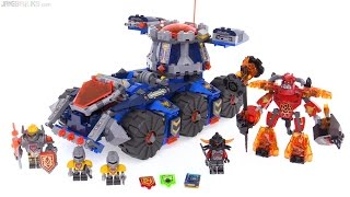 LEGO NEXO Knights Axl's Tower Carrier review! 70322