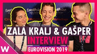 Zala Kralj & Gašper Šantl (Slovenia) Interview @ Eurovision 2019