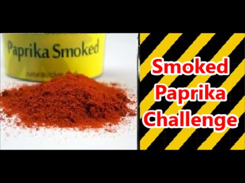 Smoked paprika challenge
