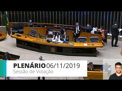 Plenário - Sessão para a votação de propostas legislativas - 06/11/2019 - 14:00*