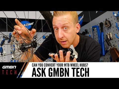 Can You Convert Your Mountain Bike Wheel Hubs? | Ask GMBN Tech