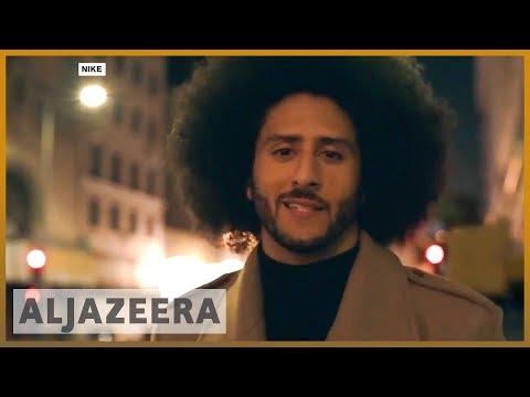🇺🇸 US: Colin Kaepernick debate overshadows NFL season opener   Al Jazeera English