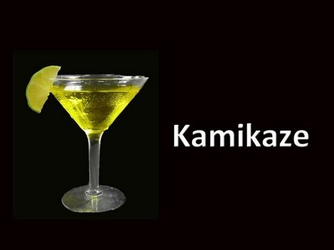 Kamikaze Cocktail Drink Recipe