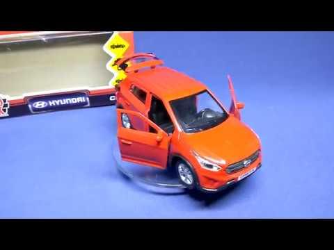 Hyundai Creta - моделька в масштабе 3D обзор (Технопарк)