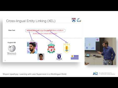 Learning with Less Supervision in a Multilingual World Thumbnail