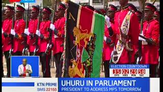 President Uhuru Kenyatta declares that he will open Parliament with or without NASA members