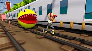 Pacman Vs Subway Surfers Vs Baldi Full Battle