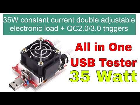 All in One USB Tester for QC 2.0 and QC 3.0 Power Banks & Chargers