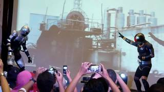 Jakarta Battle of The Toys 2016 - Kamen Rider Black and Black RX Live Show
