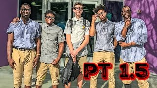 NERDS Plays Basketball In The HOOD! Pt 1.5