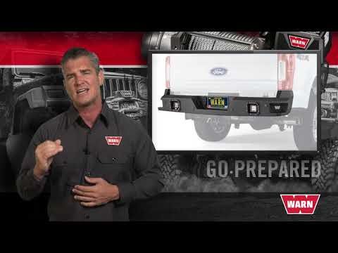WARN Ascent Truck Bumpers