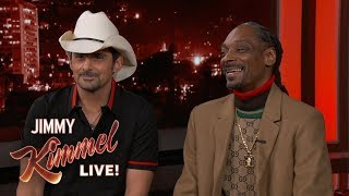 Cook with Snoop Dogg & Perform with Brad Paisley!