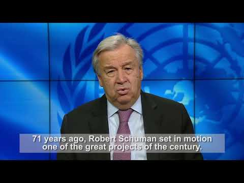 UNSG António Guterres' Europe Day 2021 message