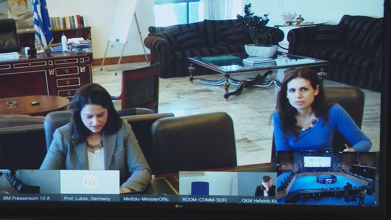 Συνεδρίαση των υπουργών Παιδείας της Ε.Ε για τα προβλήματα στα εκπαιδευτικά ιδρύματα λόγω κορονοϊού