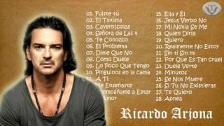 Ricardo Arjona Sus Mejores Éxitos 2017 2016 Las 30 mejores canciones de Ricardo Arjona
