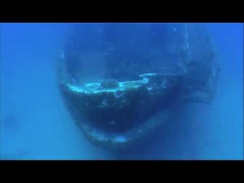 Wreck of M.V. Karwela, Gozo, Malta, Wrack Karwela,Gozo,Malta