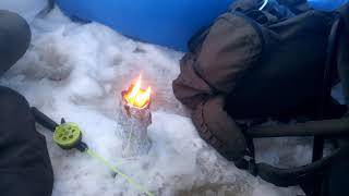 Обогрев зимней палатки на рыбалке своими руками