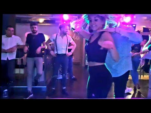 Ambra Sabatini bailando @ zero7cinque Latino