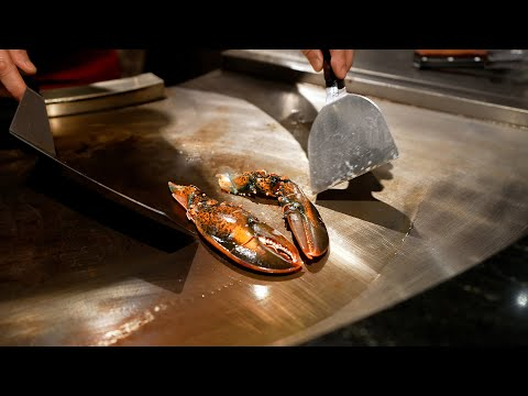 $375 Lobster & Steak Teppanyaki