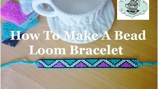 DIY Bead Loom Bracelet How-To ¦ The Corner Of Craft