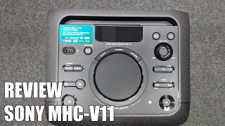 Review Sony MHC-V11. Nuevo equipo multimedia bluetooth 2016