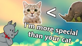 I'm More Special than Your Cat!
