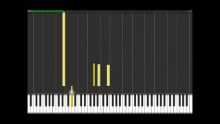 Amazed - Lonestar (Easy Piano Tutorial) in Synthesia (100% speed)
