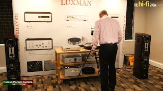 Dali Epicon 8 Speakers Luxman Ultimate C900U Pre And M900U Power @ The Hi-fi Show Live 2018