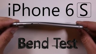 iPhone 6S BEND TEST, Scratch test, Burn test
