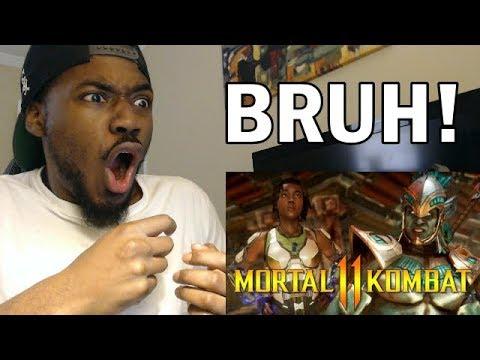, title : 'Mortal Kombat 11 | OFFICIAL Kotal Kahn vs Jacqui Briggs Reveal Trailer! REACTION & REVIEW'