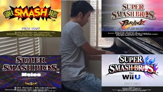 ALL Super Smash Brothers INTROS (except for Ultimate) for Piano + Cinematics