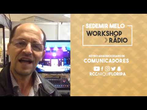 Retiro Arquidiocesano de Comunicadores   Workshop: Rádio