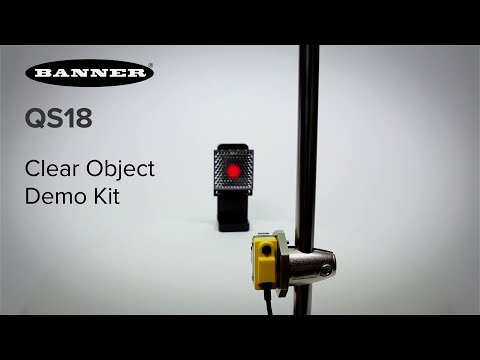 QS18 Expert Clear Object Detection Demo Kit