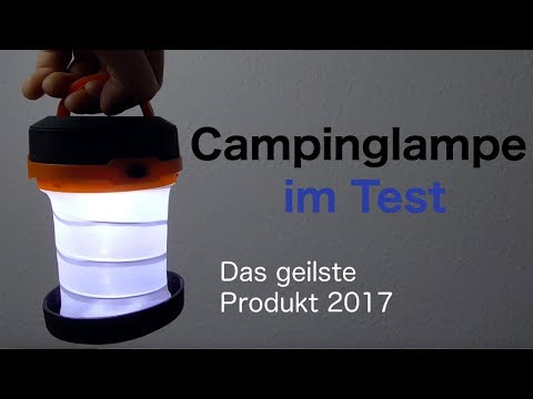 Campinglampen im Test | The Friendly Swede
