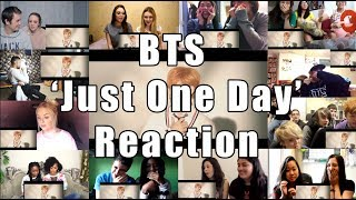 just one day bts dance practice reaction mashup - Thủ thuật