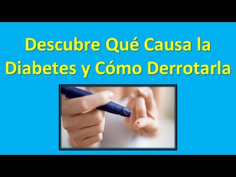 Colesterol en una persona con diabetes