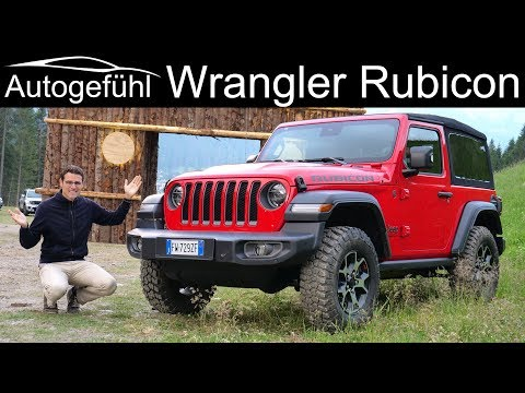 External Review Video Ve90VdxcPhI for Jeep Wrangler (2-door) & Wrangler Unlimited (4-door) SUV (4th gen, JL)