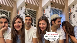 Divyanka Tripathi is Pregnant!Divyanka's first Live flaunting her Baby Bump after Pregnancy