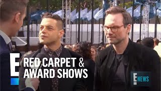 Rami Malek & Christian Slater on Besties in Real Life | E! Red Carpet & Award Shows
