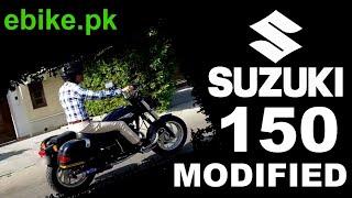 Suzuki GS150 Modified | ebike.pk