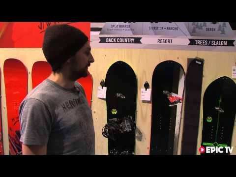 Snowboard Review: 2014 Salomon Splitboards Derby, Rancho and Sick Stick 166 ISPO 2013
