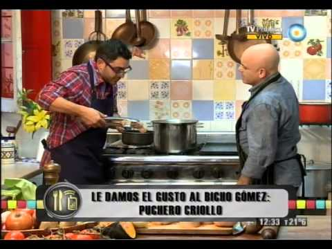 Bicho Gómez, puchero