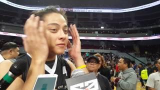 Daniel Padilla at Kapamilya Playoffs: 'Touched Naman Ako Sa Aking Kathryn'