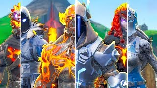 FROZEN vs LAVA LEGENDS - Fortnite Short Film
