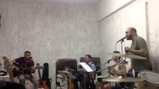 Frammenti Battiato flauto chitarra e voce